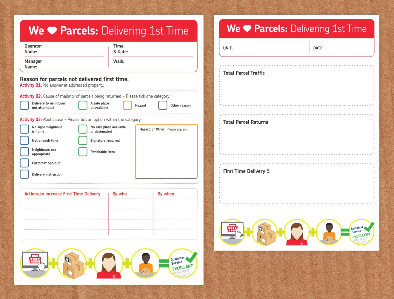 We love parcels Royal Mail
