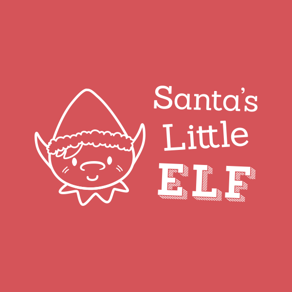 Satnta's Little Elf branding design