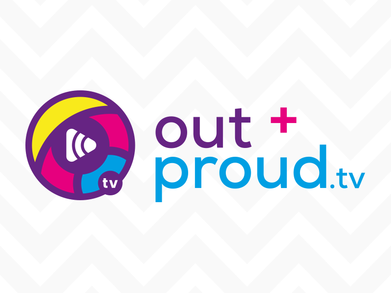 out and proud logo